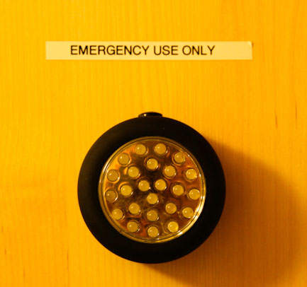 LEDs are ideal for emergency lighting