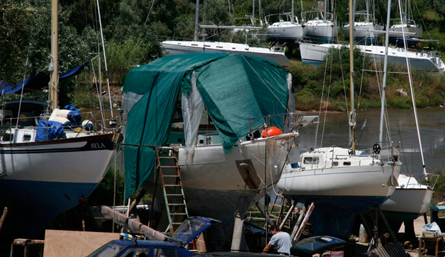 Winterisation  - make sure your boat is safe when laying-up