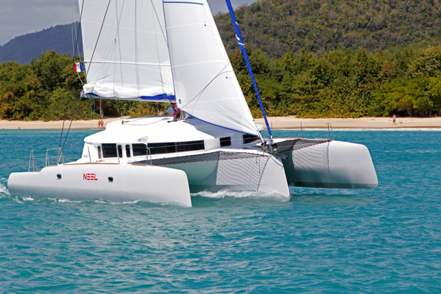Neel 45 trimaran: cruising in style... at speed
