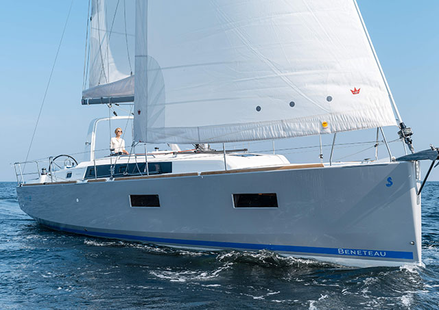 Beneteau Oceanis 38: looking different