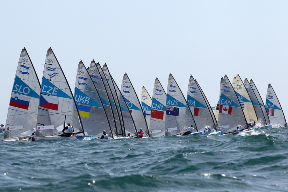 Watching Olympic Sailing: Finn dinghy class