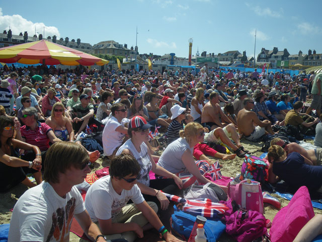 Weymouth: Olympic sailing from the beach