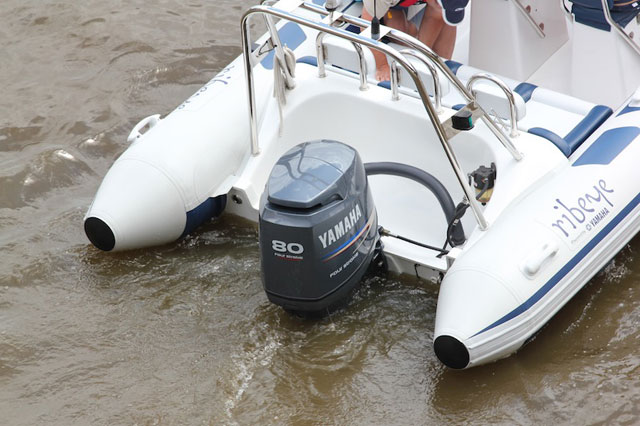Outboard engine cooling system problems