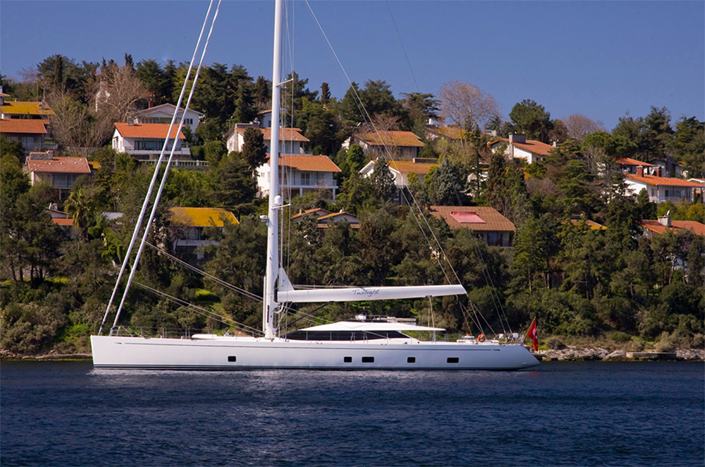 The Oyster 125 - just one of the stunning yachts to come from Ed Dubois' long and illustrious career.