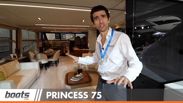 Princess 75 Motor Yacht: First Look Video