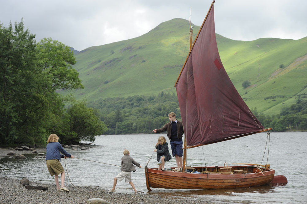 Swallows and Amazons filmed in the Lake District