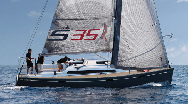 Salona 35 to debut at Dusseldorf
