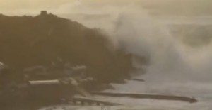 Massive wave Cornwall