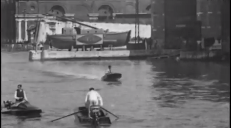 1920s historic motor boat race video