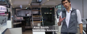 Galeon 430 Skydeck video