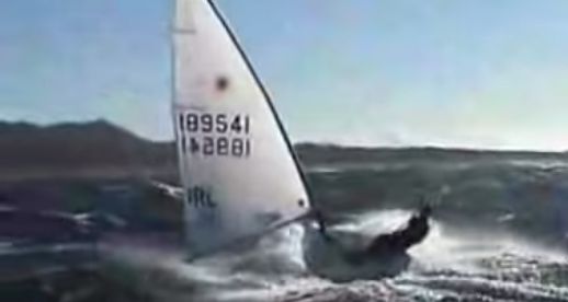 Extreme dinghy sailing: caught on camera