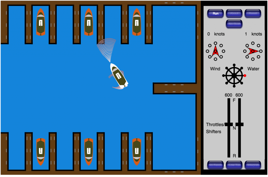 The Boat Docker powerboat simulator