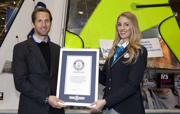 Ainslie accepts official world record for Bart's Bash