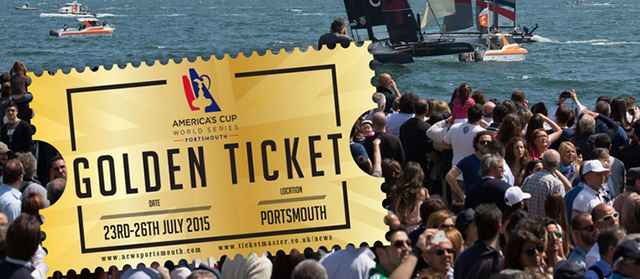 Tickets for the America's Cup World Series visit to Portsmouth are selling fast. Photo ACEA/Gilles Martin-Raget.