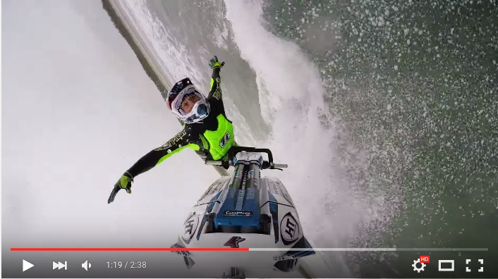 Mark Gomez films epic jet ski freeride session