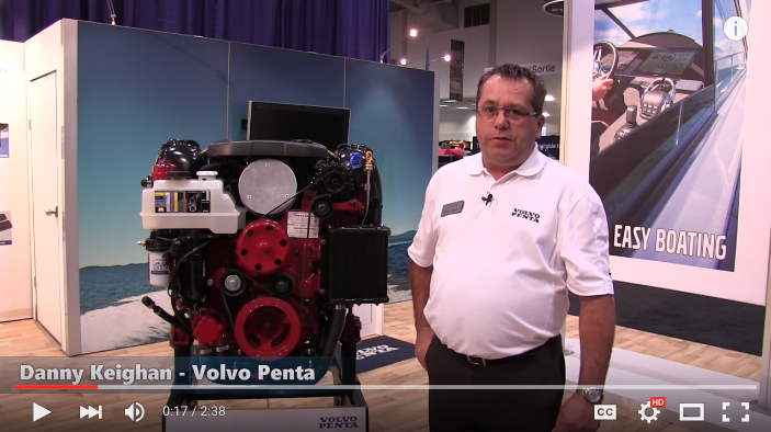 Volvo Penta V6-200-C – new products at Southampton