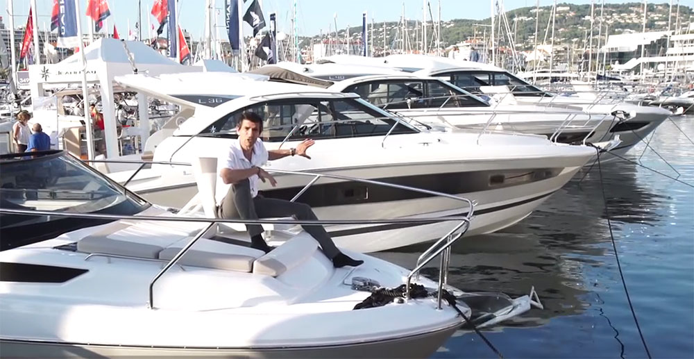 Jeanneau Leader 30 video