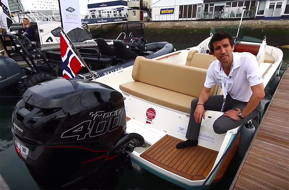 Cormate U23 R video tour shot at Southampton Boat Show 2016.