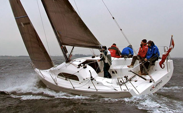 X-Yachts XP-33 under sail