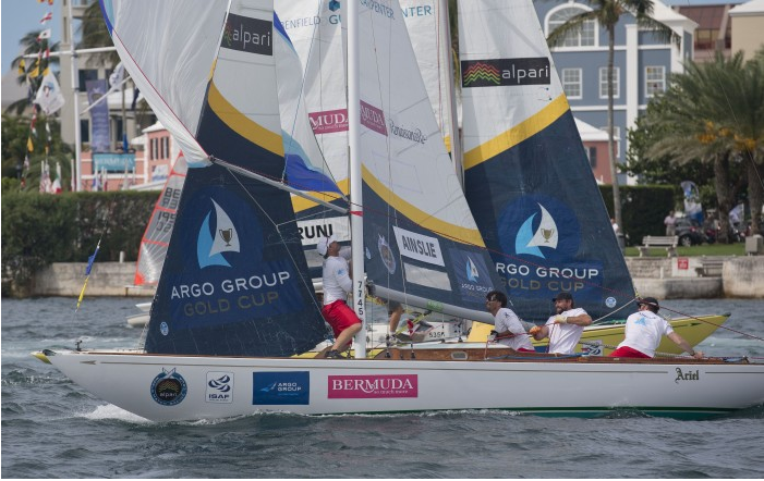 Bruni beats Ben Ainslie in Bermuda match racing final