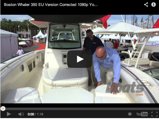 Boston Whaler 350 EU Edition video