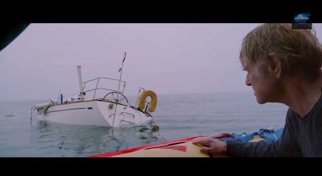 All is Lost: Robert Redford sailing film trailer