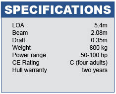 Sea Champion 18 Specifications