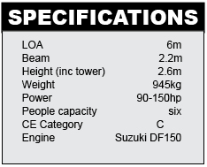 Skua RB6 Specifications