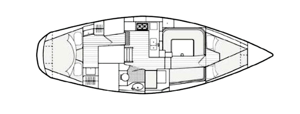 The layout of the Southerly 115