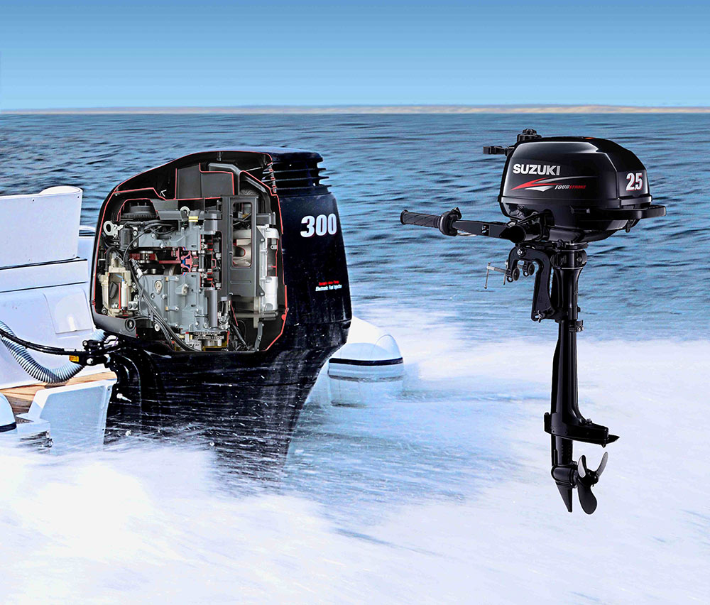 Suzuki outboard engines: two-for-one offer