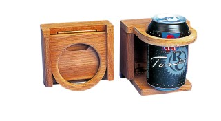 Onward Trading teak cup holder - christmas present ideas