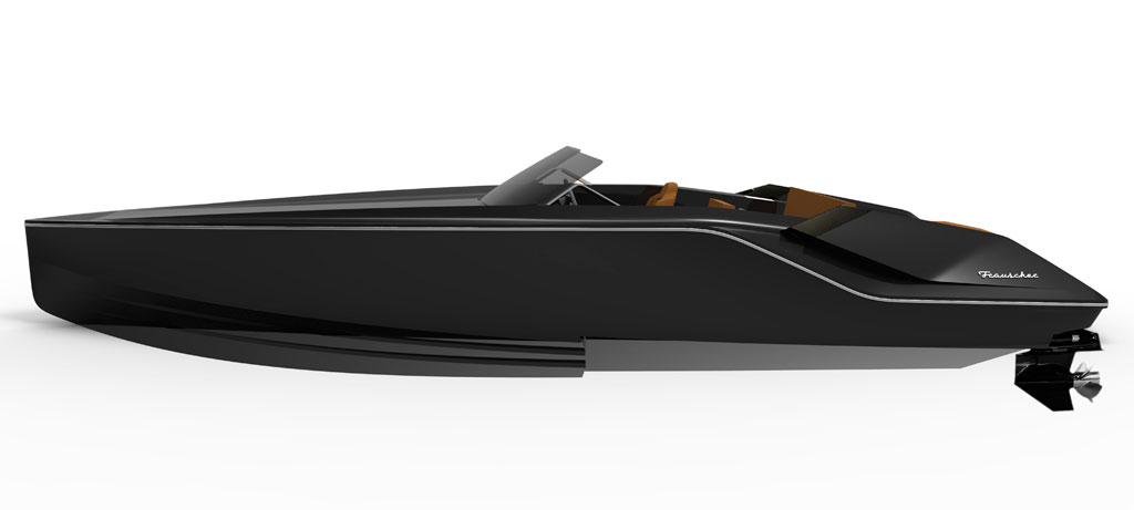 Bond villain boat – Frauscher 747