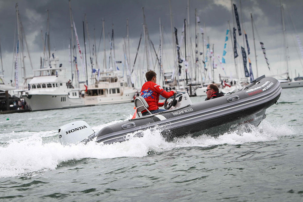 The 2016 Southampton Boat Show will see the launch of three new Honda engines and the final of the Honda Youth RIB Challenge.