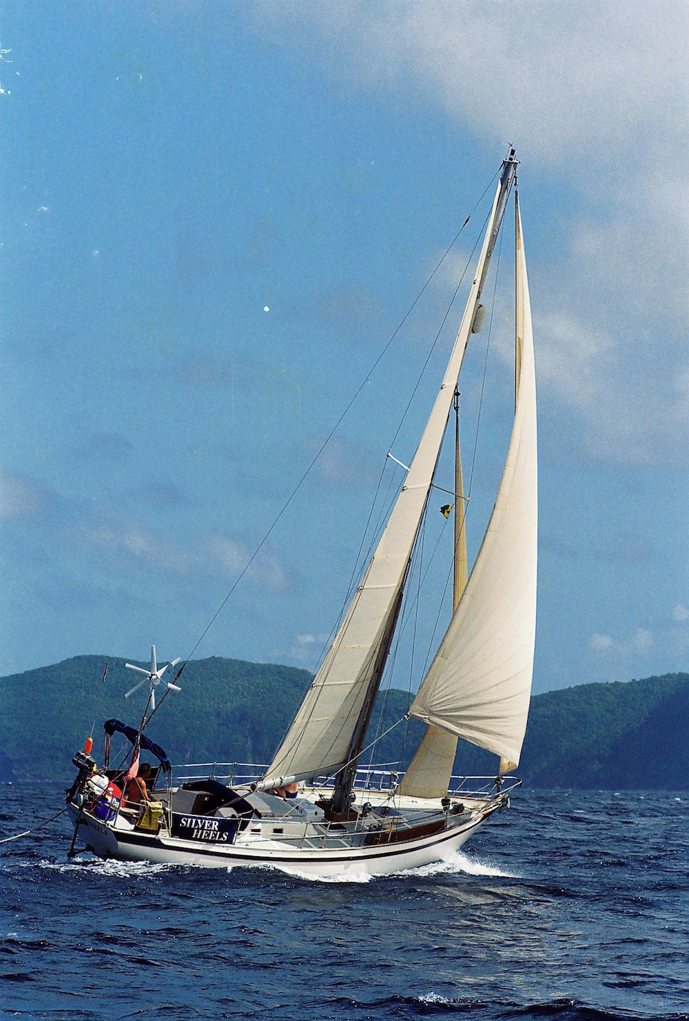 Tradewind 35 long-keeled production cruising yacht designed prior to 1988, and one of 13 type approved yachts available to enter the 2018 Golden Globe solo non-stop round the world race.