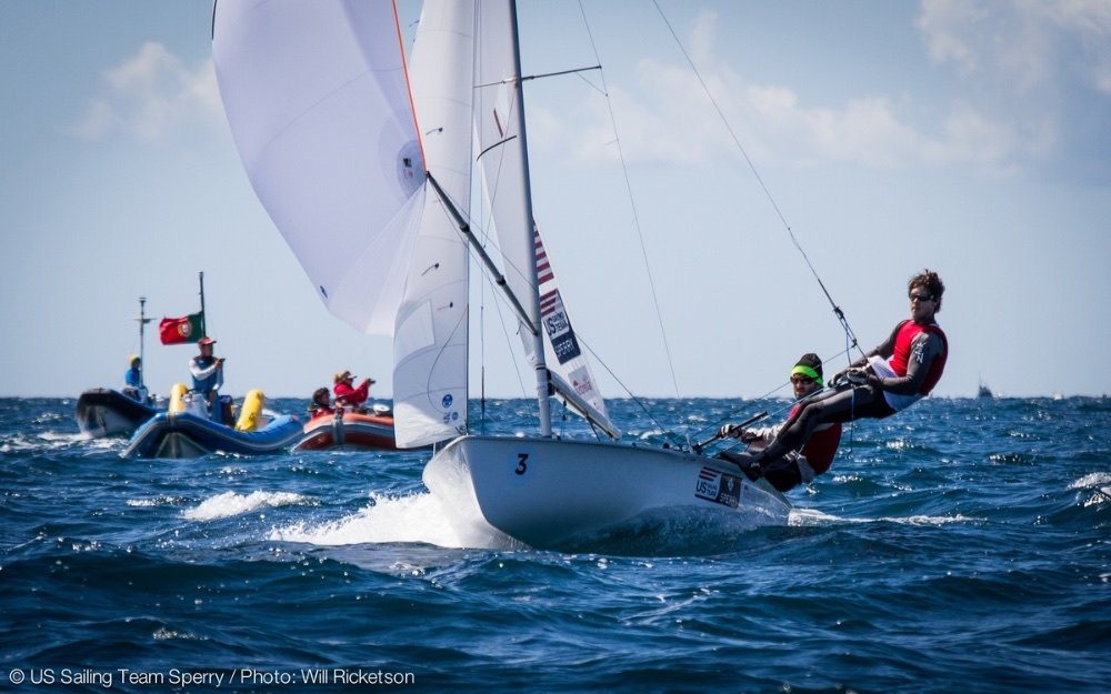 US Olympic sailing: 470 men