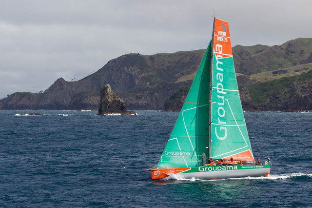 Volvo Ocean Race victory for Groupama