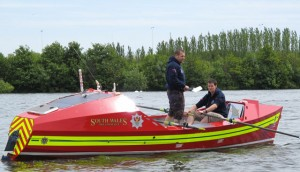 Firefighters embark on Atlantic row