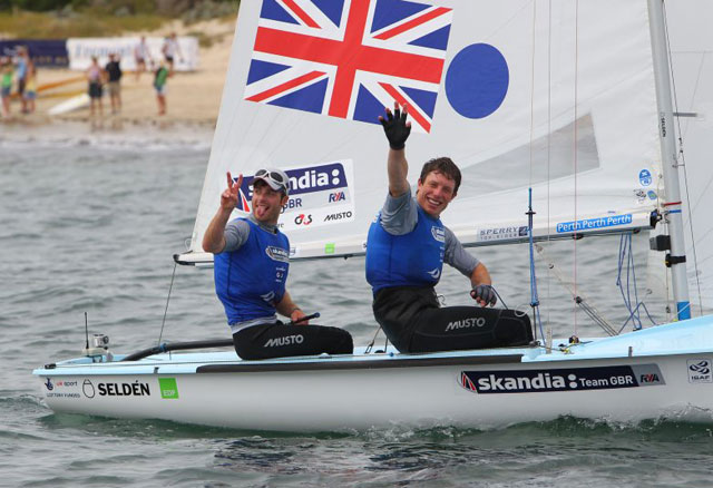 Australia wins 470 Worlds, GBR is second