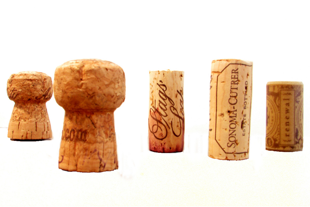 Wine corks to keep sunglasses afloat