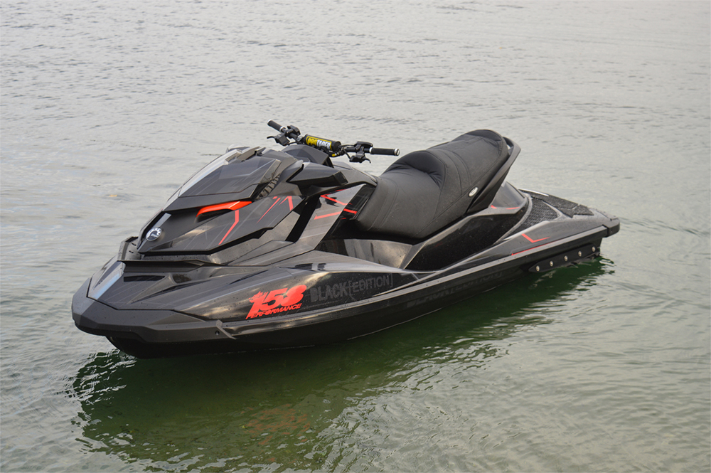 Black Edition Sea-Doo speed machine