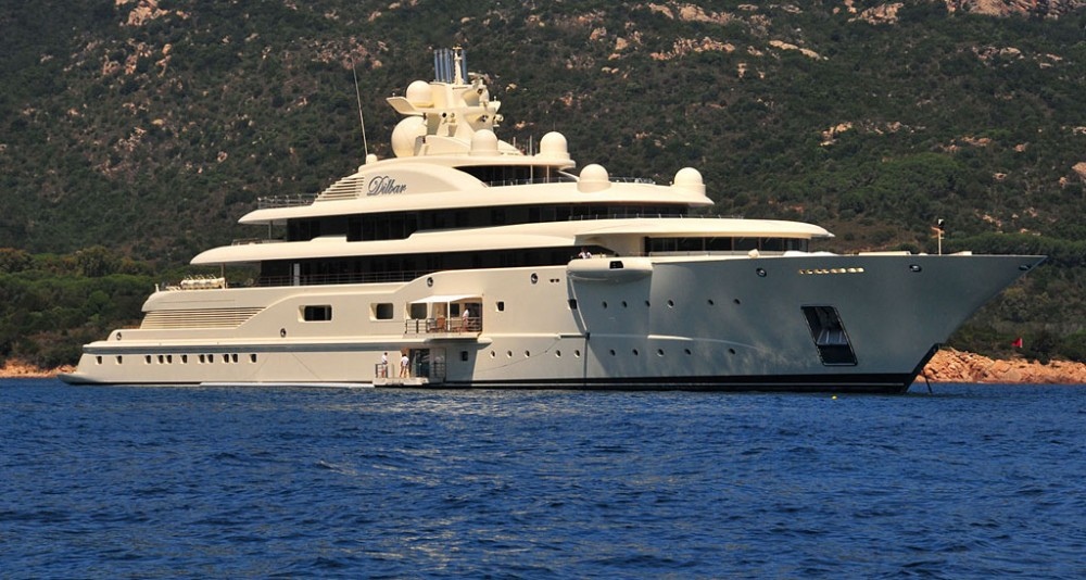 World's largest yachts: Dilbar