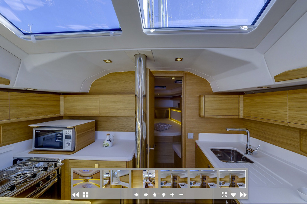 Elan GT5 galley