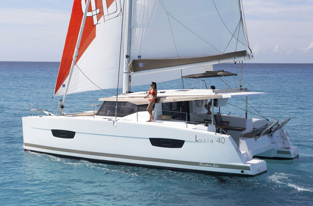 Fountaine Pajot Lucia 40 review
