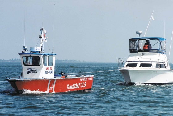 Towing at sea: top tips