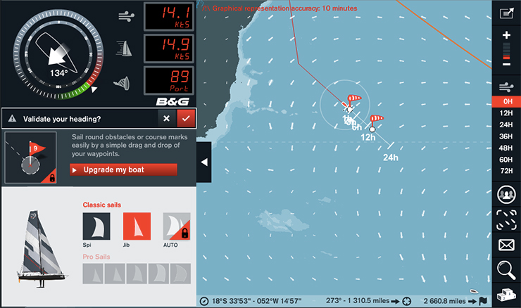 Racing the virtual Volvo Ocean Race