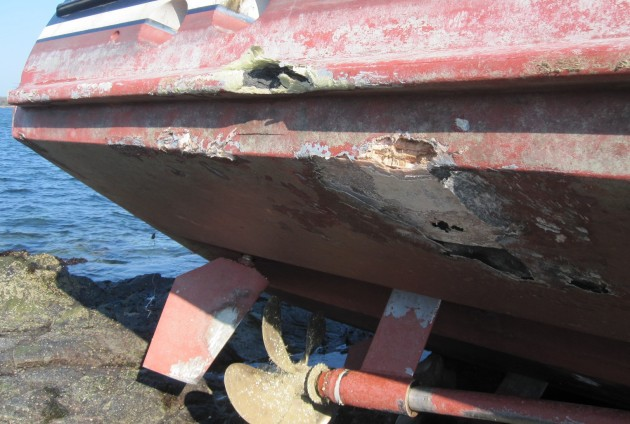 Damaged boat – is it always a write-off?