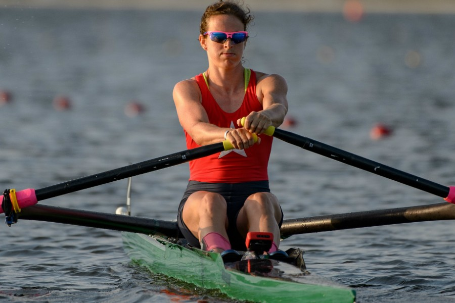 Olympic rowing: single scull