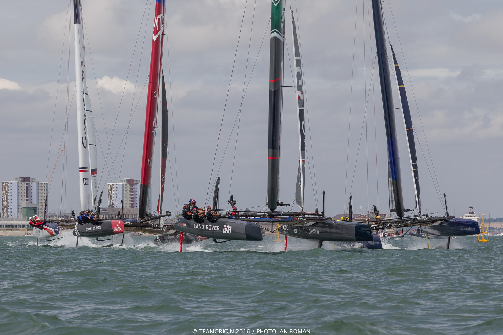 The Louis Vuitton America's Cup World Series in Portsmouth