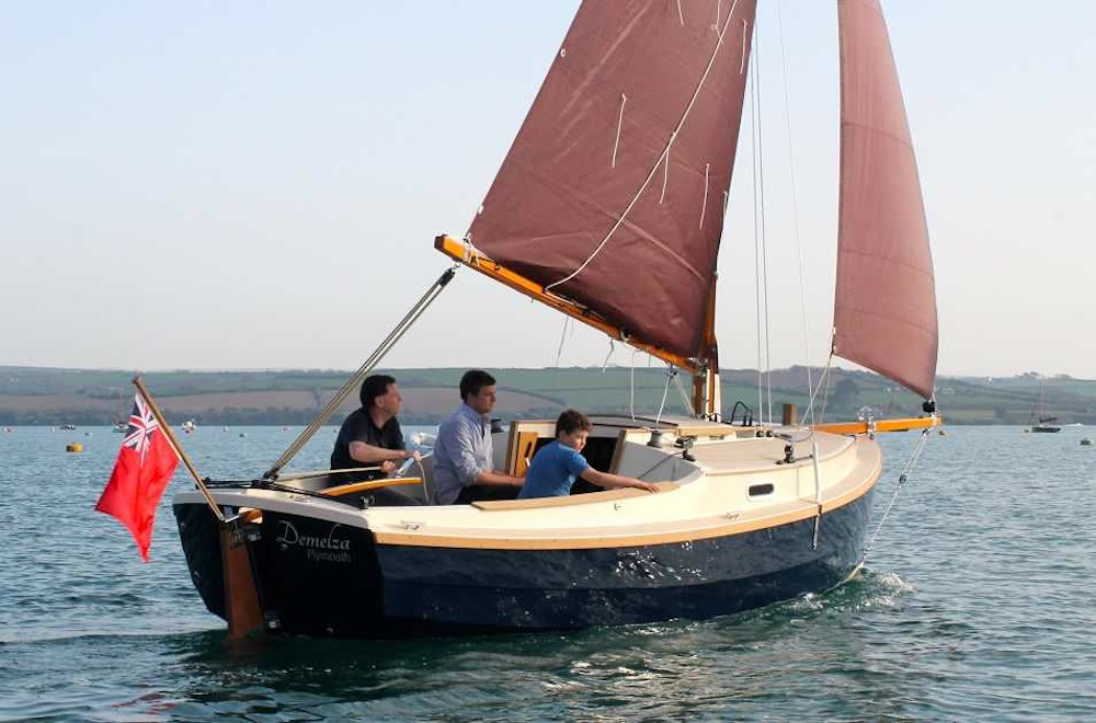 Cornish Shrimper 21 review: a modern gaffer