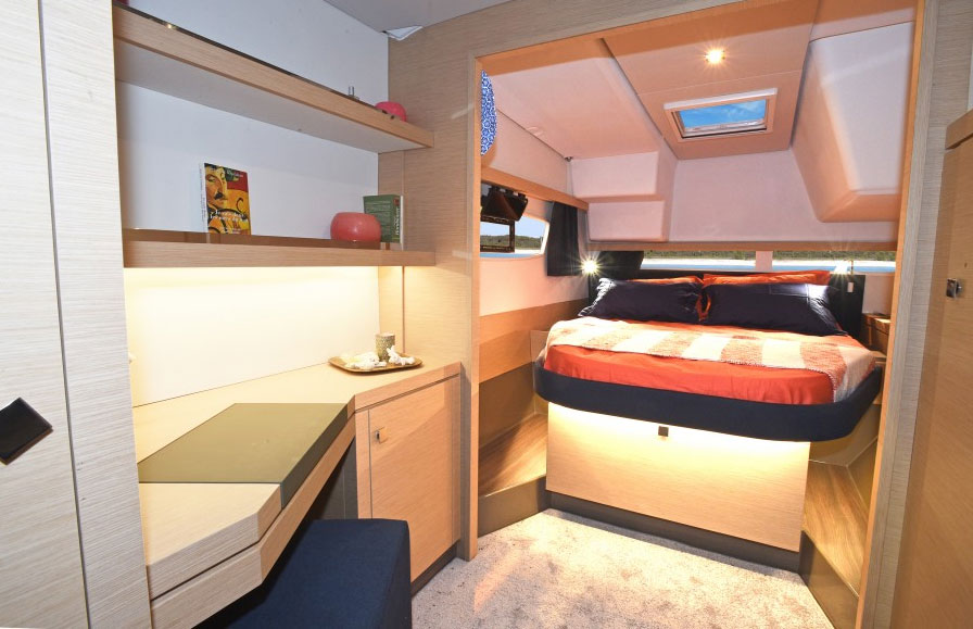 Fountaine Pajot Lucia 40 stateroom